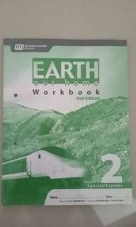 Earth our home Workbook Sec 2