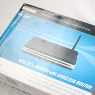 D-Link DSL-2640B ADSL2/2+ Modem with Wireless Router