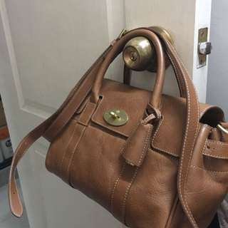 #price reduction# Mulberry Bayswater small 2way handbag crossbody/ shoulder