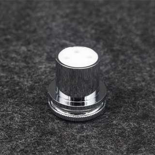 Rhodium Plated Copper RCA / XLR Dust Caps