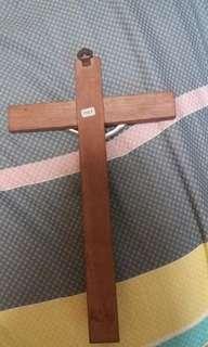 十字架(木製)25.5mm X 15.5mm