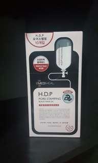 🔥GSS SALES! Mediheal H.D.P Pore Stamping Black Mask Ex