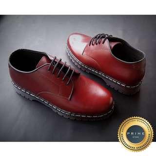 Sepatu Kulit Pria - Kasual - Genuine Leather (Docmart Style)