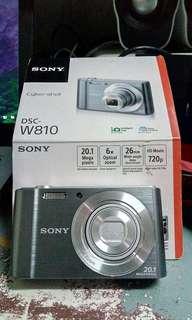 Sony W810 open box