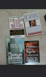 Sale $1!! Books motivational