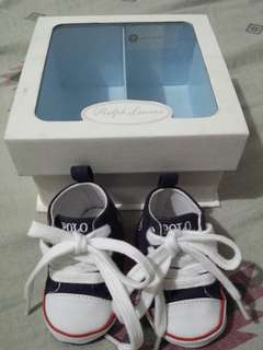 Ralph lauren newborn baby shoes