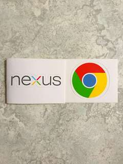 Google Nexus/Chrome Stickers