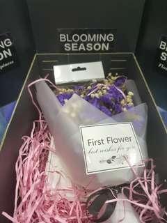 frist flower purple