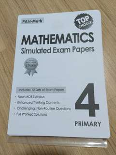 P4 Math Assessment papers