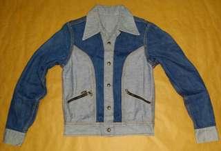 Vintage 古著 70、80s Lee 雙面牛仔夾克