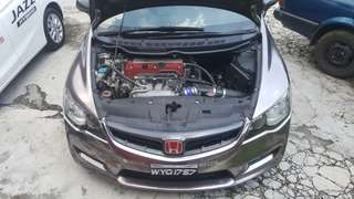 HONDA CIVIC FD2R STAGE 3