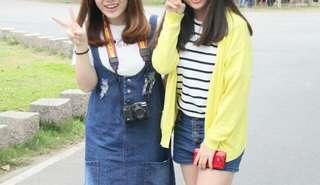 🚚 黃色罩衫
