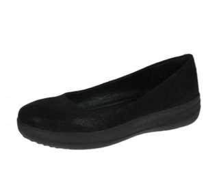 Fitflop F-Sporty Ballerina Black Glimmer