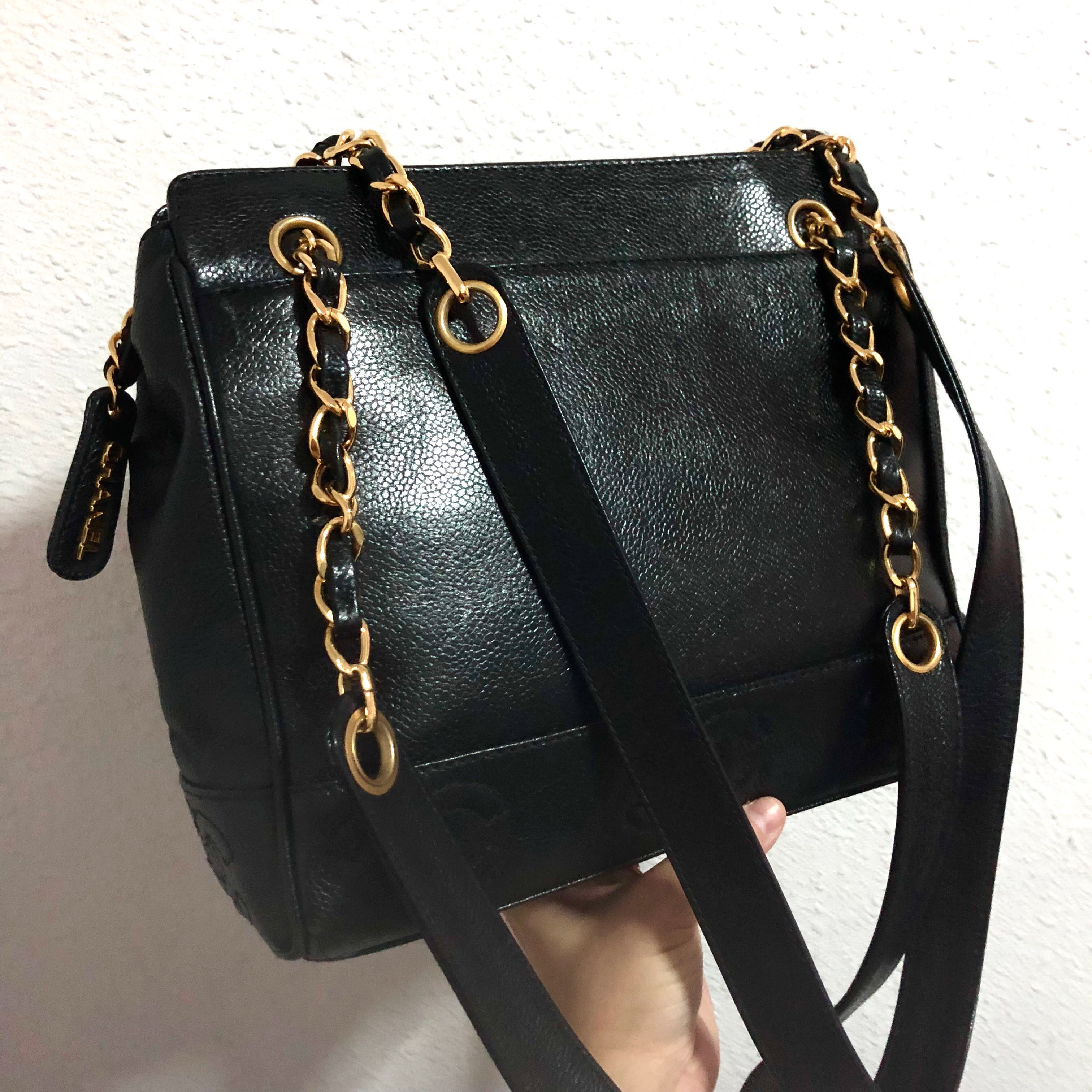d8ce9f49e9f1 Authentic Chanel Caviar Tote with 24k Gold Hardware, Luxury, Bags ...