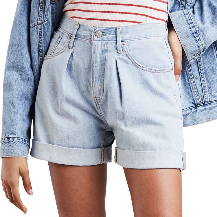 6cce2f28 Authentic Levi's High Rise Baggy Shorts, Women's Fashion, Clothes, Pants,  Jeans & Shorts on Carousell