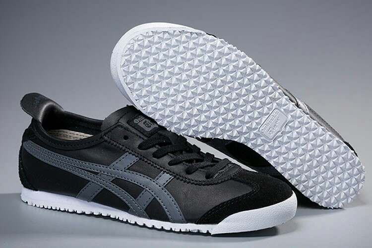 finest selection fb9c0 a001c Authentic Onitsuka Tiger (Mexico 66) Black/Grey on Carousell