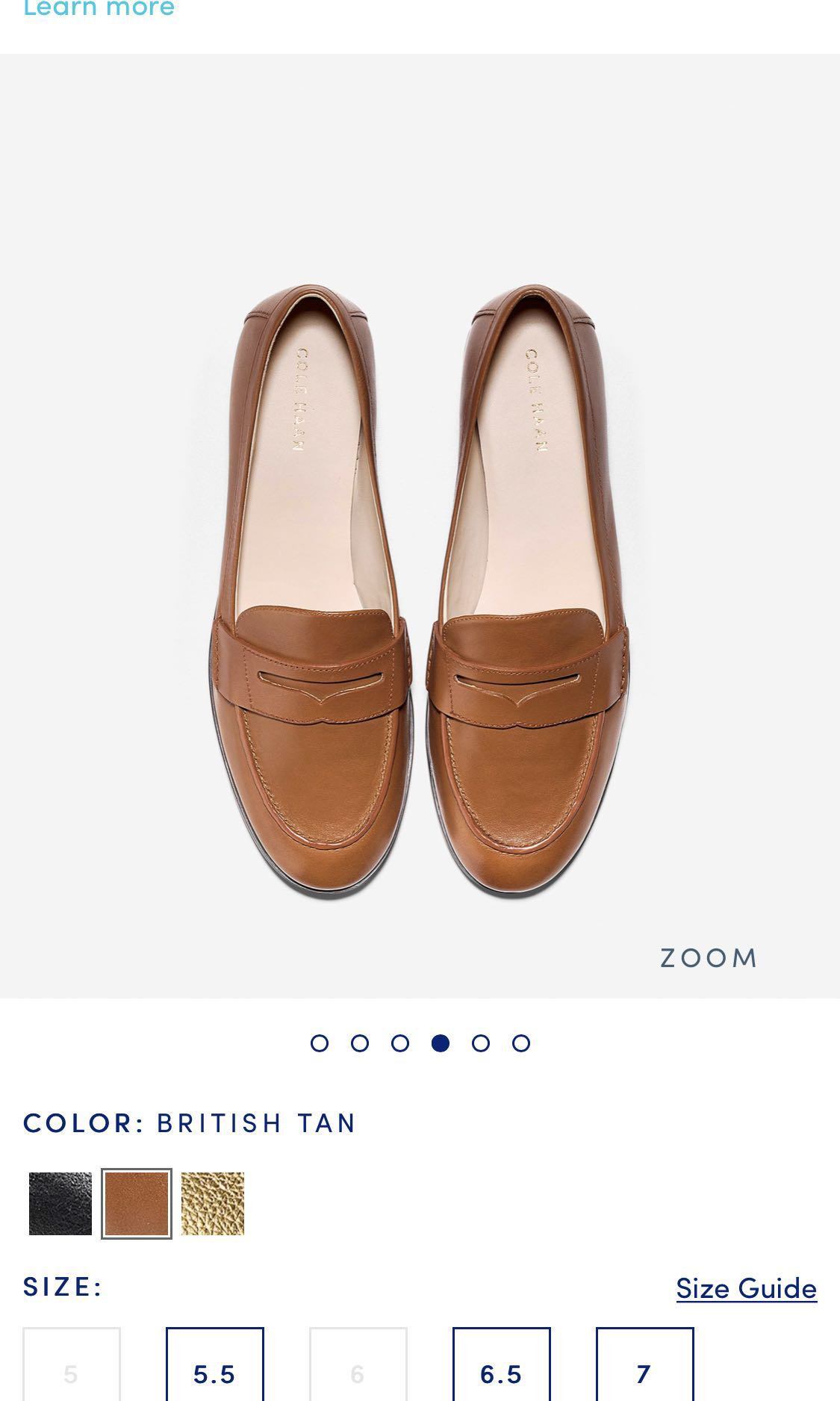311df6432b6 Cole Haan Women's Pinch Grand Penny Loafer