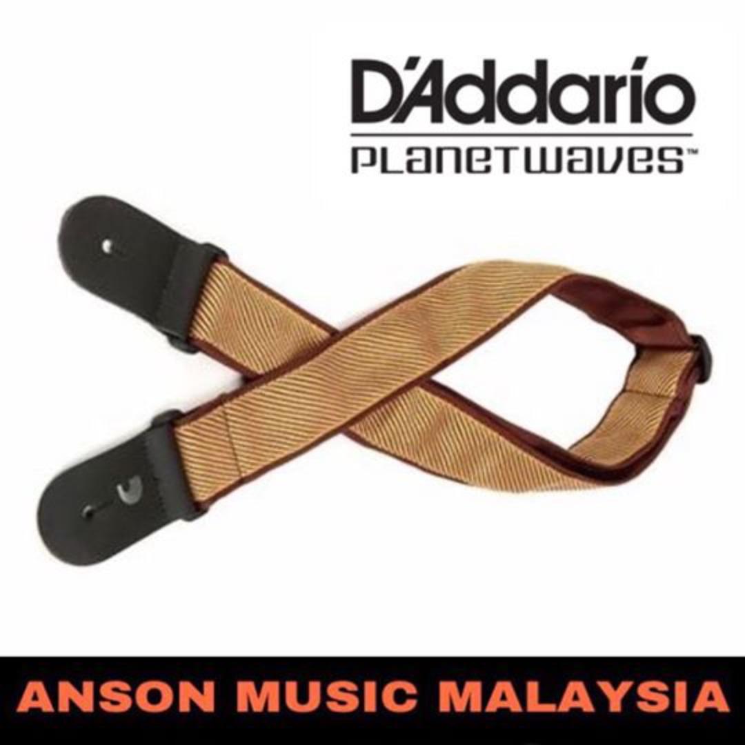 Tweed D/'Addario Planet Waves 50B06 Woven Guitar Strap