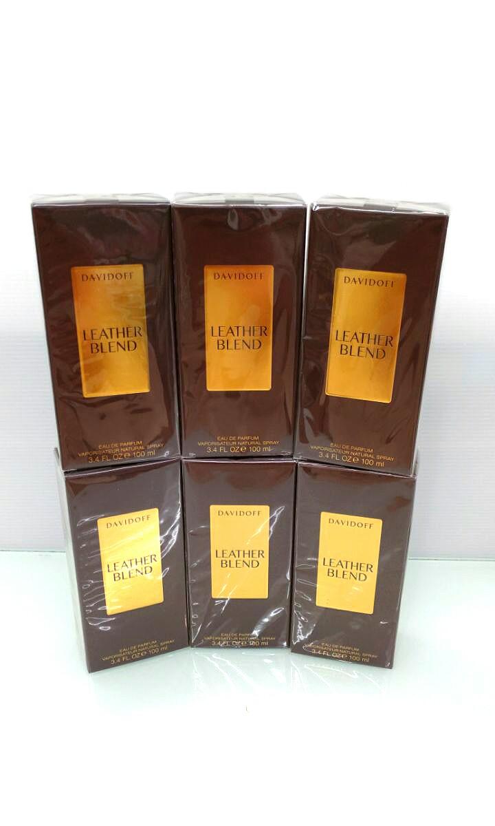 Davidoff Leather Blend 100ml Edp Unisex Health Beauty Perfumes