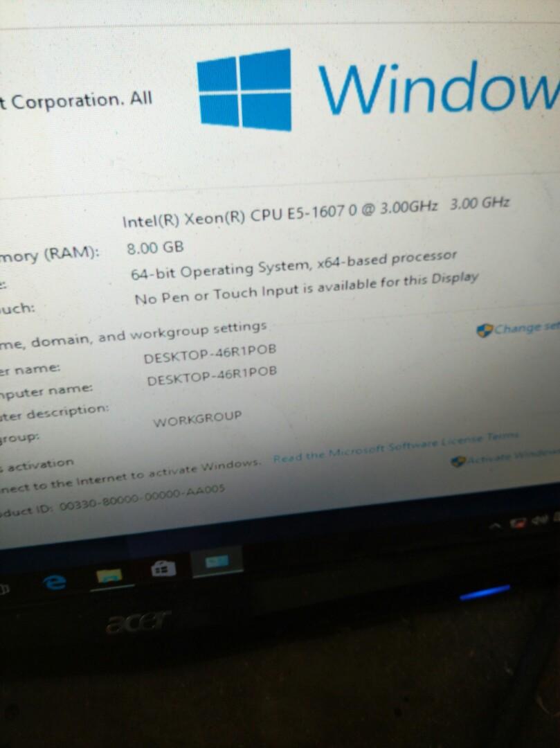 Dell t3600 E5 cpu workstation, Electronics, Computers