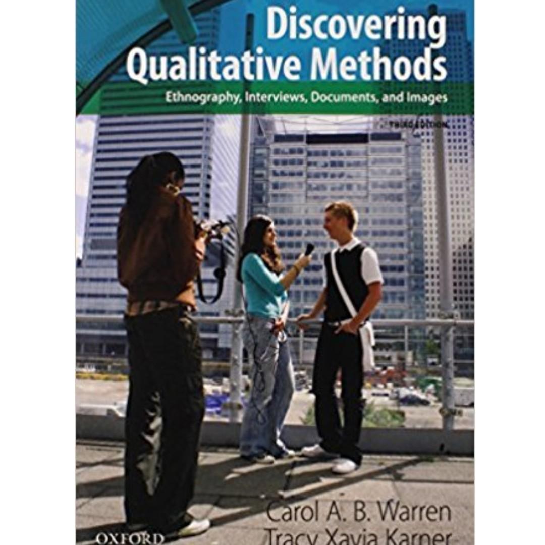 Discovering Qualitative Methods Third Edition