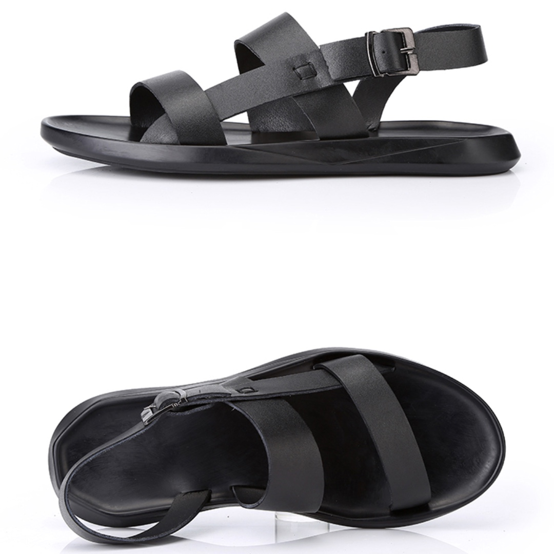 a75b0ebf9 Genuine Leather Men Sandals / Capal ( FREE DELIVERY ), Men's Fashion ...