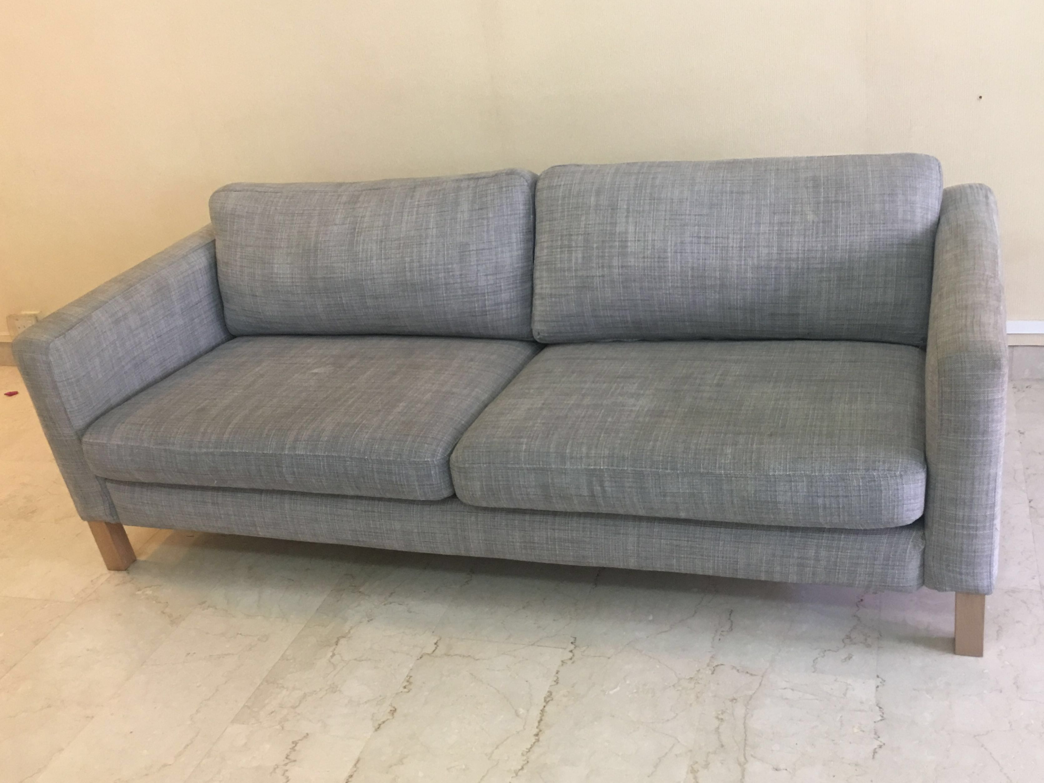 Ikea Karlstad 3 Seater Sofa Bed Cover Velcromag