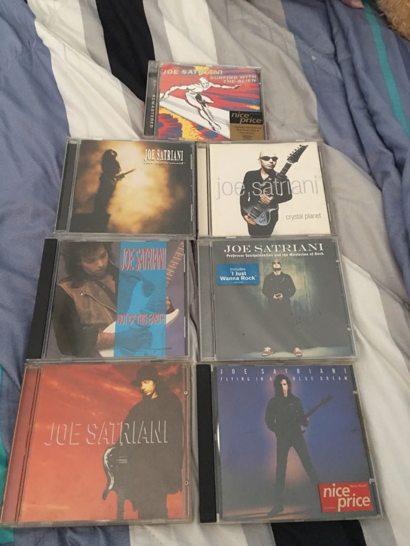 Joe Satriani Music CDs (Price Negotiable), Music & Media