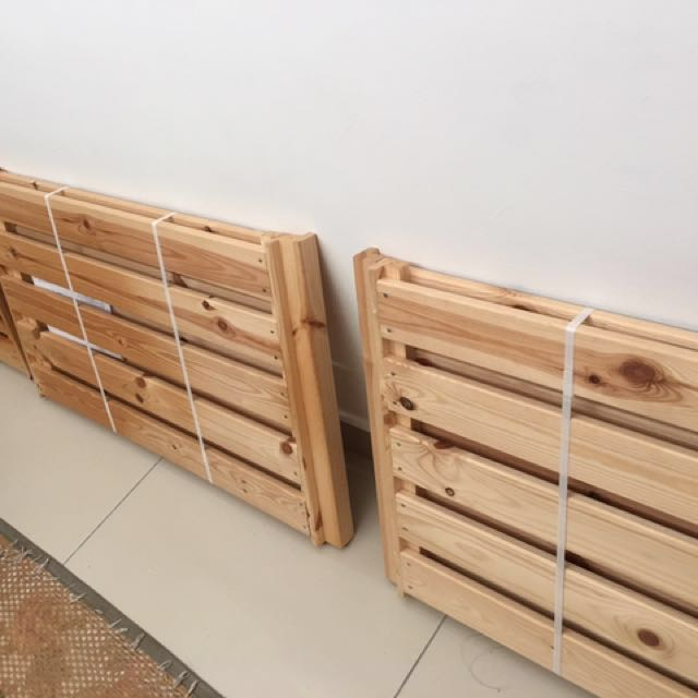 Kayu Pallet Ikea Untuk Dijual 3 Keping Home Furniture Others On Carou