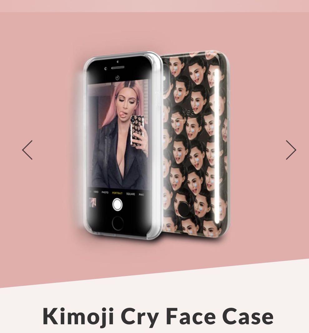 huge selection of 149e5 2bd8c Lumee x KIMOJI (limited edition case) KKW Kim Kardashian