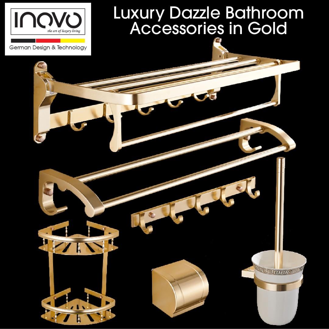 Luxury Loure Bathroom Accessories / toilet accessories / towel rack ...