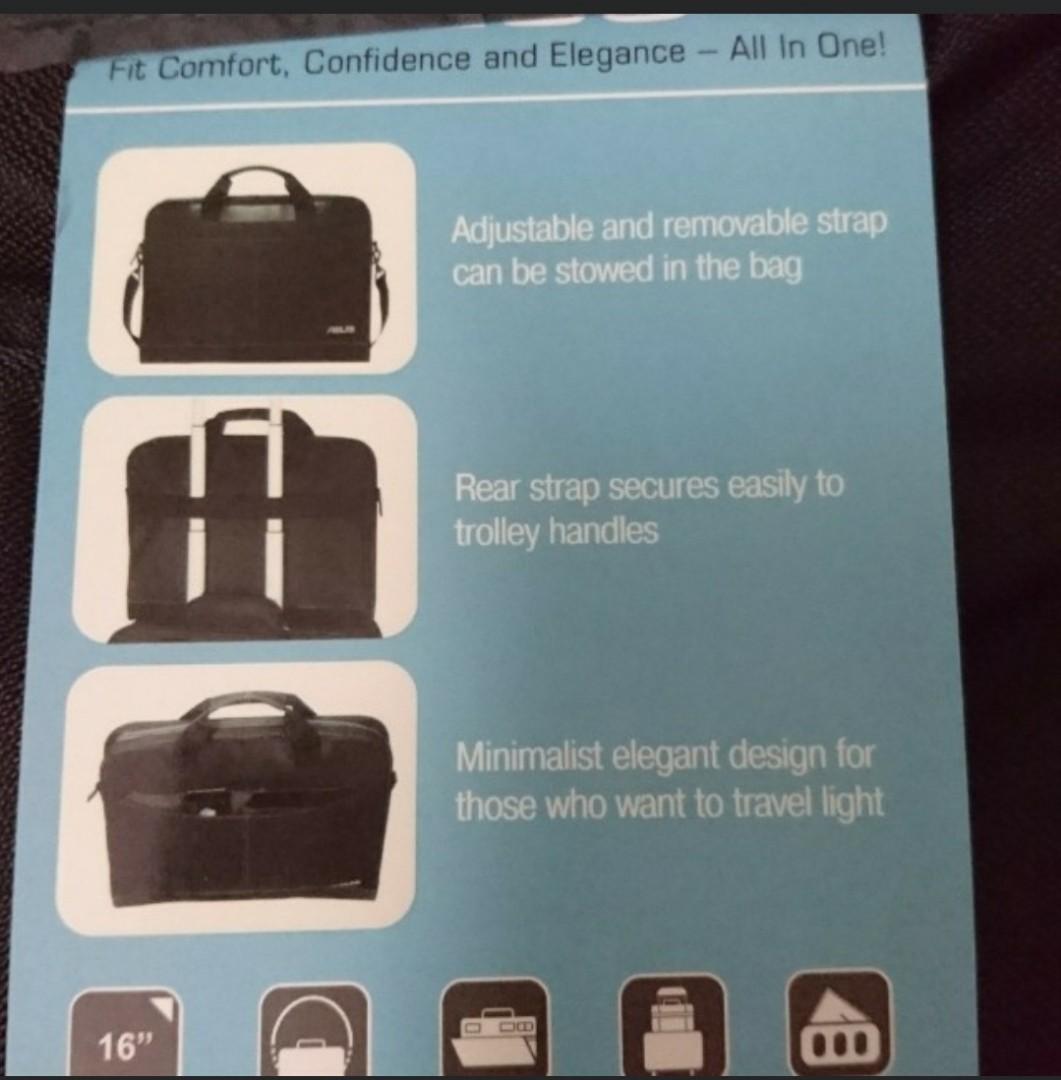 New Asus laptop bag