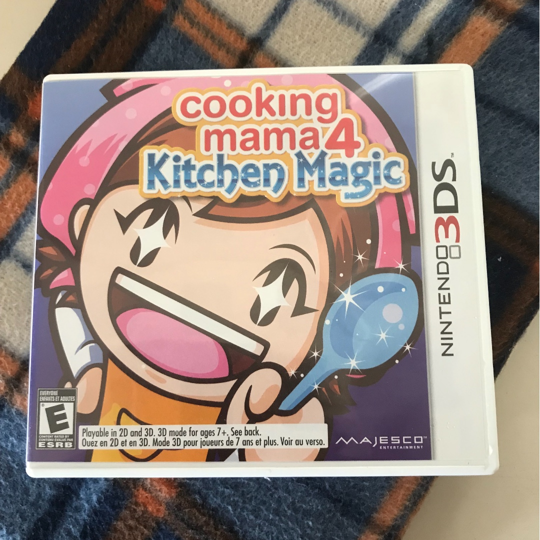 Nintendo 3ds Game Cooking Mama 4 Kitchen Magic