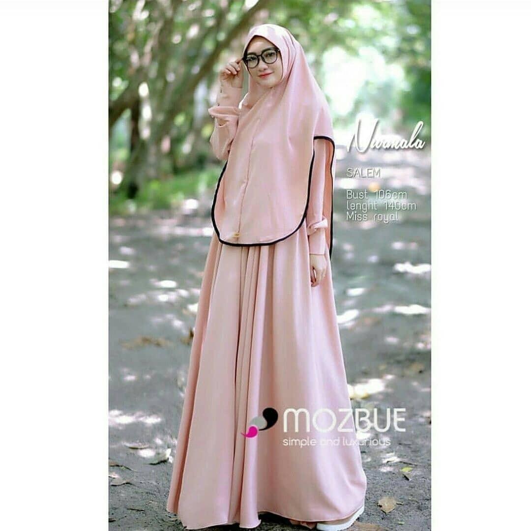 Nurmala Syari Pr001 Womens Fashion Muslim On Carousell Umama Noor Hijab Jilbab Kerudung Segiempat