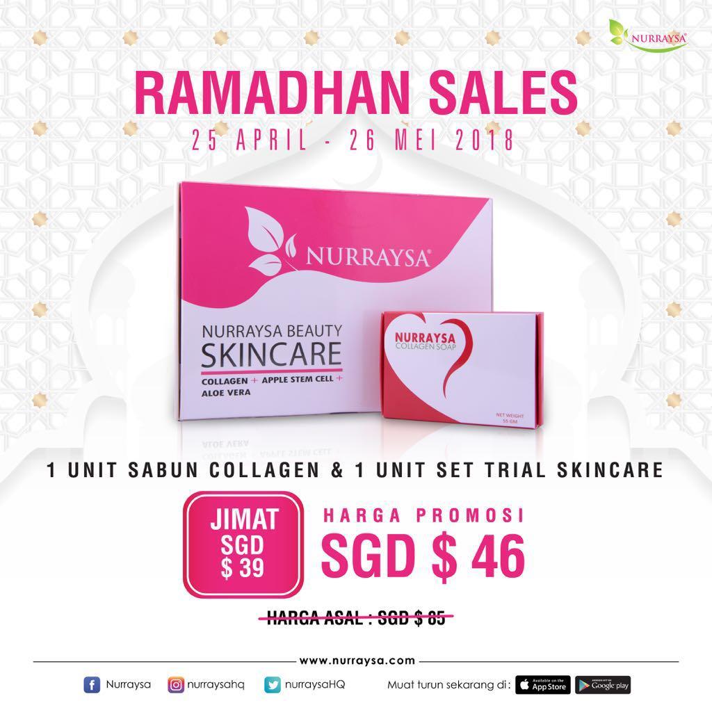 Nurraysa Skincare Set Health Beauty Bath Body On Carousell Sabun Colagen