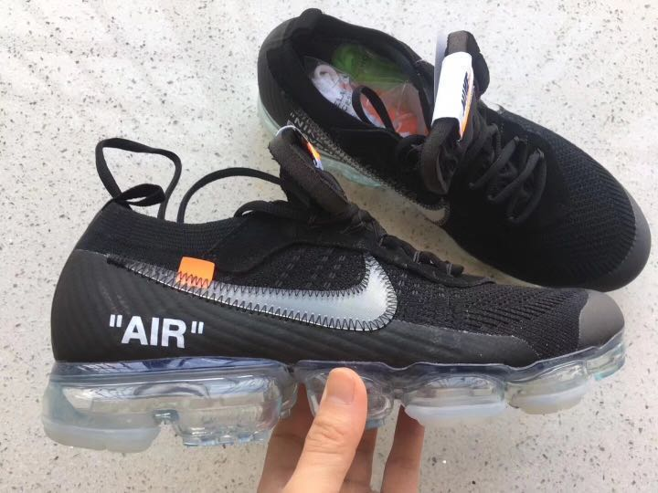 size 40 c4d22 e879a OFF-WHITE x Air VaporMax Nike  Part 2  Black, Men s Fashion ...