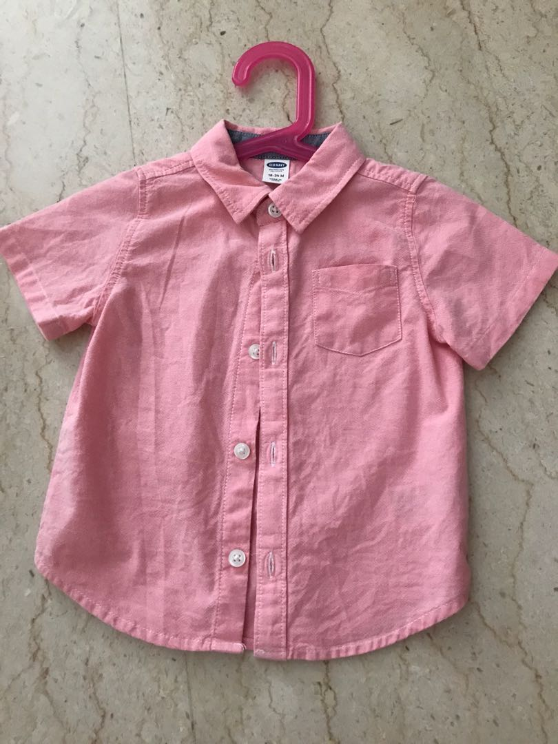 bb3e969175cc Old Navy Boy Shirt 18-24m