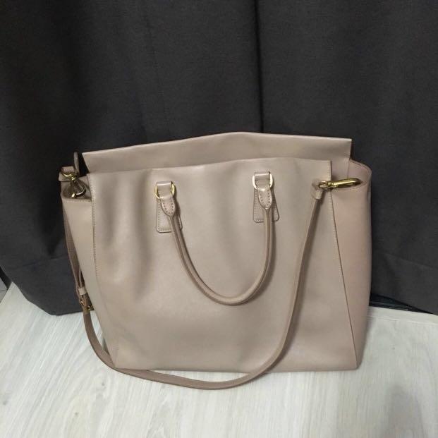 21b33a03b35 Prada Saffiano Lux Bag, Luxury, Bags   Wallets on Carousell