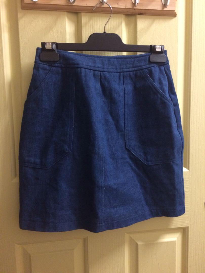 Runway Bandits Denim Skirt