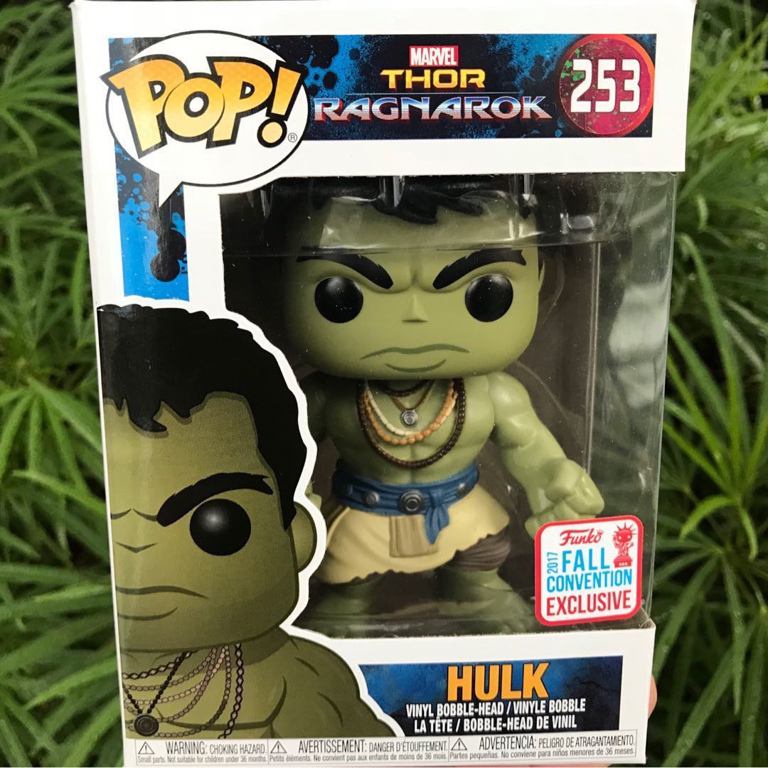Sold Out Sale Nycc Fall Convention 2017 Exclusive Hulk Funko Pop Games Destiny Sweeper Bot Sdcc Casual Thor Ragnarok Bobblehead Avengers Infinity War Toys Bricks Figurines On Carousell