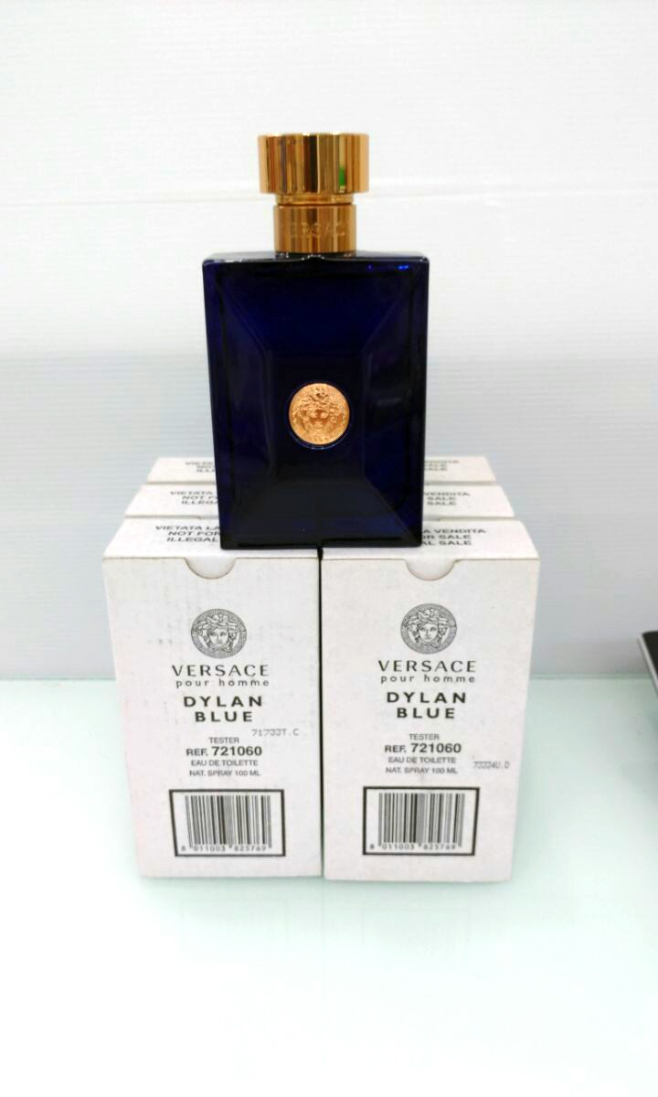 Versace pour Homme Dylan Blue 100ml Edt (tester), Health   Beauty,  Perfumes, Nail Care,   Others on Carousell 03cec53235d