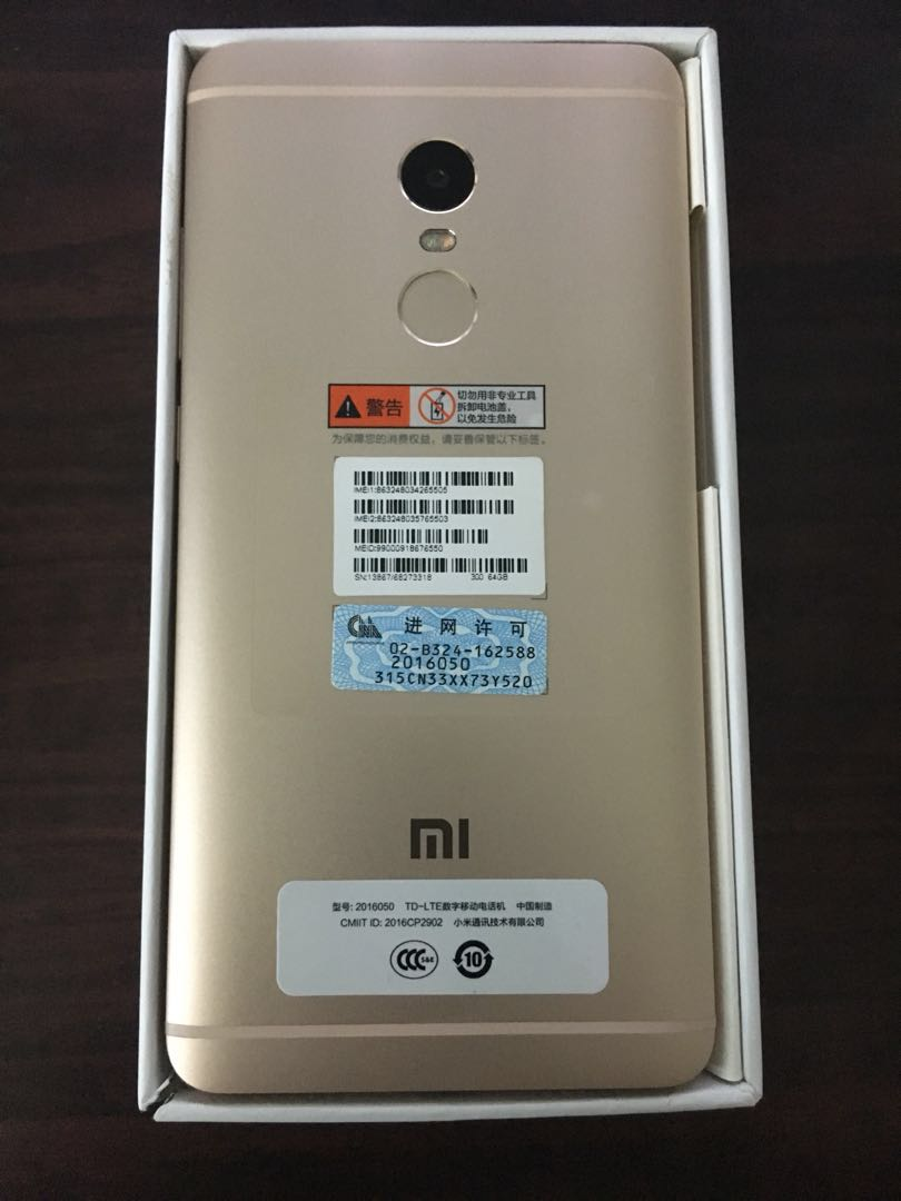 Xiaomi Redmi Note 4 Mobiles Tablets Android Phones On X 4x Ram 4gb 64gb 64 Gb High Eidition Black Carousell