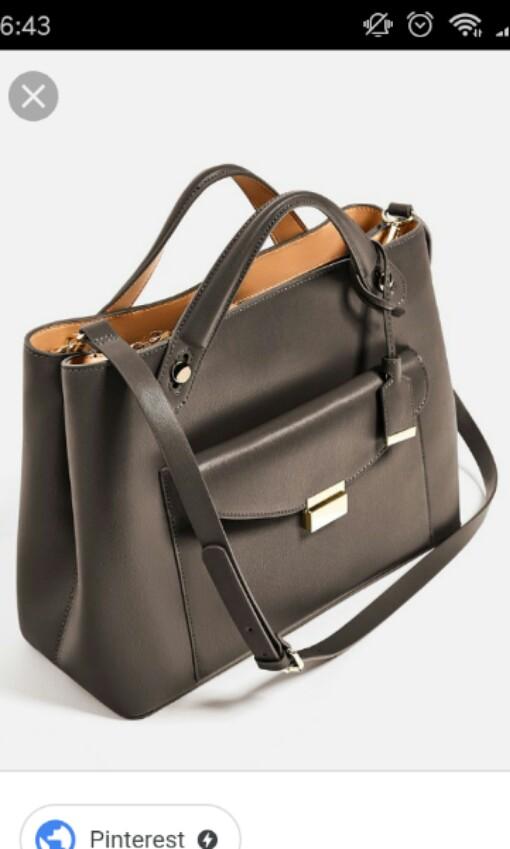 0d4e52692e4b Zara Two way Basic City Working Corporate Bag  rayaletgo
