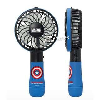 (現貨) 🇰🇷Marvel Avengers Captain America Portable Fan 復仇者聯盟美國隊長手提風扇