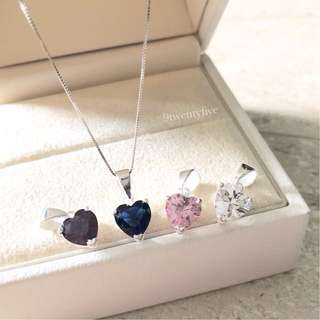NKLN-077 • 925 Silver Love of my Life Necklace