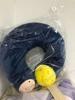 🚚 全新幾米月亮扮貓造型頸枕
