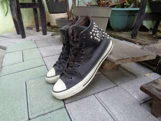 Converse Leather Hi Studed