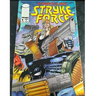 Codename: Strykeforce #1