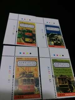 中國香港郵票 電車百週年紀念
