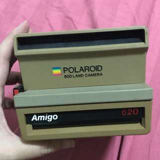 POLAROID 600 LAND CAMERA AMIGO 620